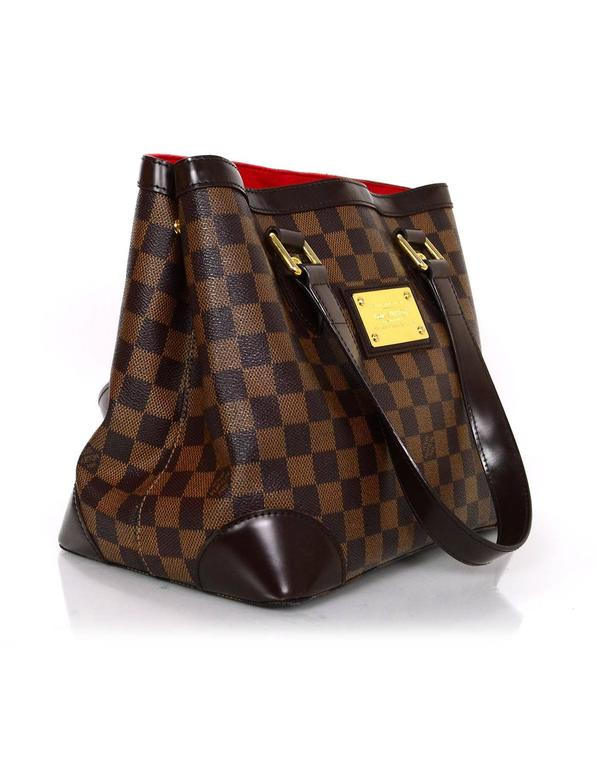 837c3ff7f4f7 Louis Vuitton Damier Hampstead PM Tote Bag In Excellent Condition For Sale  In New York