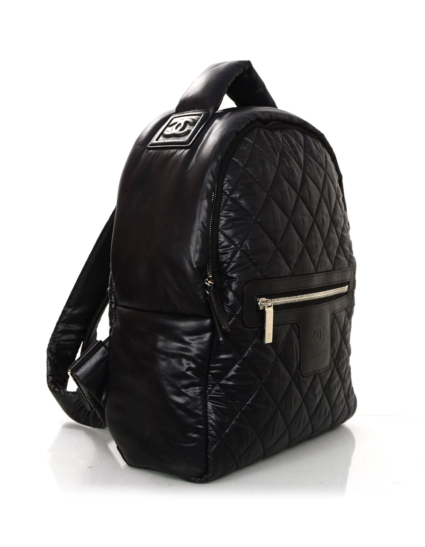 98fe0b0c1523e3 Chanel 2016 Black Nylon Coco Cocoon Backpack Bag For Sale at 1stdibs