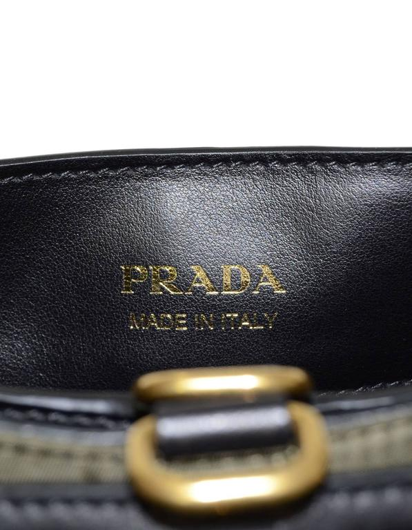 2e7f70fde53 Prada 2016 Army Green Nylon & Leather Quilted Corsaire Messenger Crossbody  Bag For Sale 3