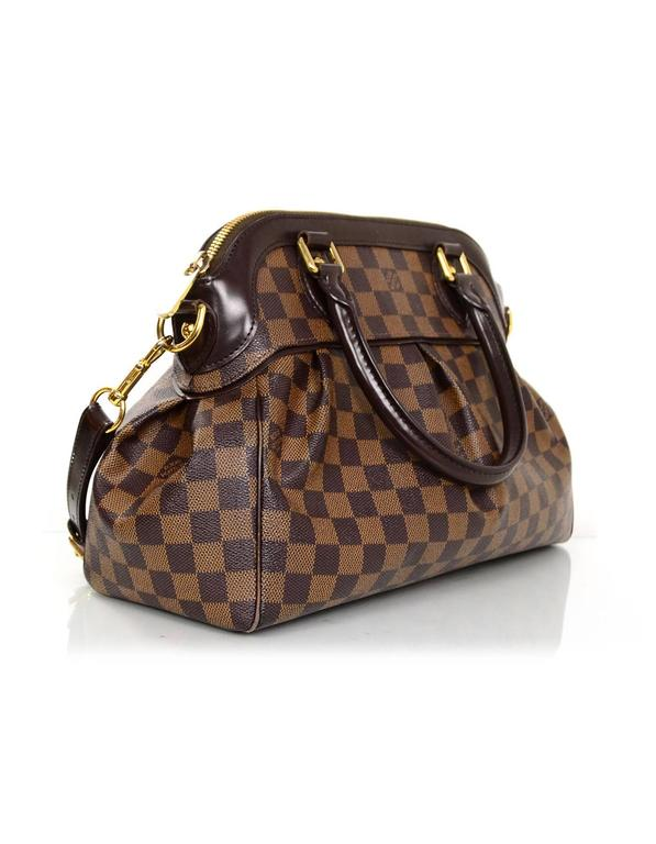 Louis Vuitton Damier Trevi Pm Bag Features Optional Detachable Shoulder Strap Made In U S A Year