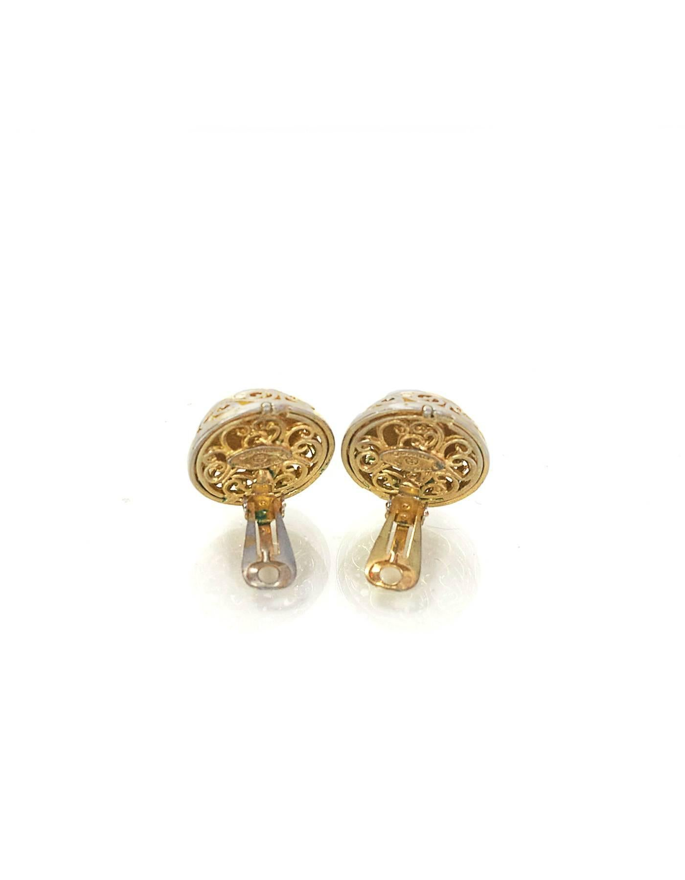 l quarter earring electra earrings garment clasp vivienne westwood