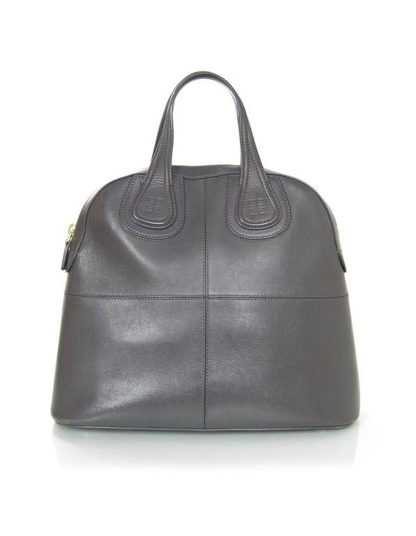 Givenchy Elephant Grey Calfskin Medium Palma Nightingale Bag w DB For Sale 566ace8c00be6
