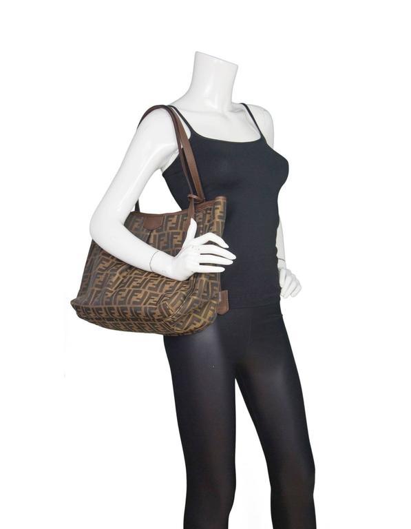 Fendi Fabric Handbag