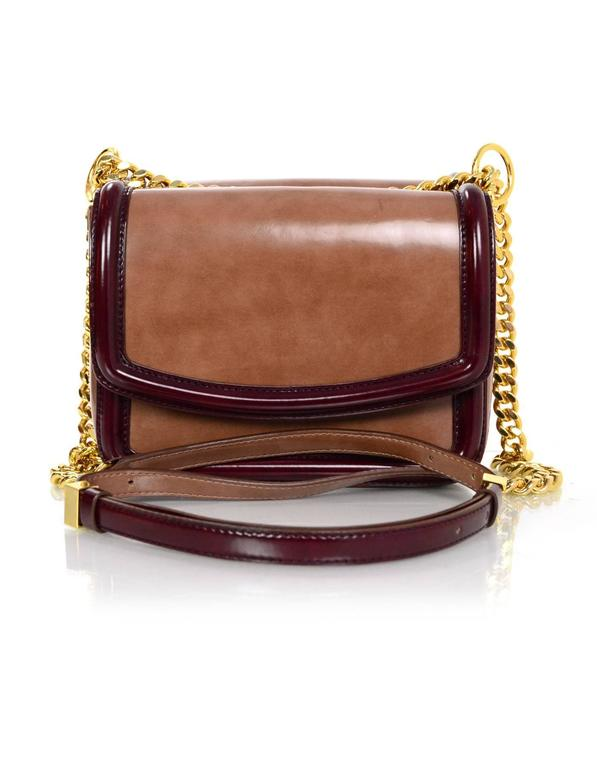 Stella McCartney Dusty Rose Double Flap Crossbody Bag For Sale at ... 4613351b4a