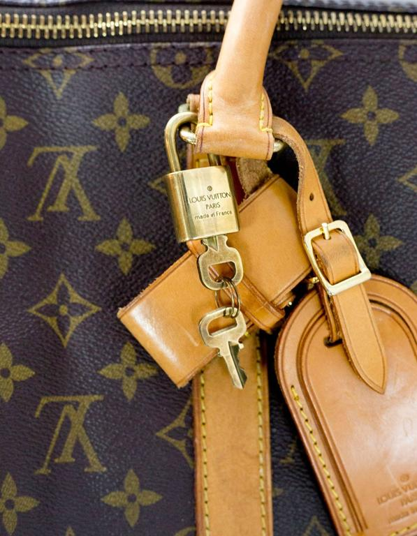 0ab4d3dab2ddd Louis Vuitton Monogram Bandouliere Keepall 50 Duffle Bag For Sale at ...