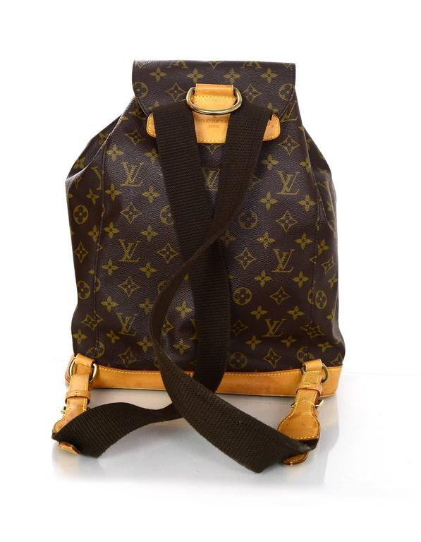 louis vuitton monogram canvas montsouris gm backpack bag for sale at 1stdibs