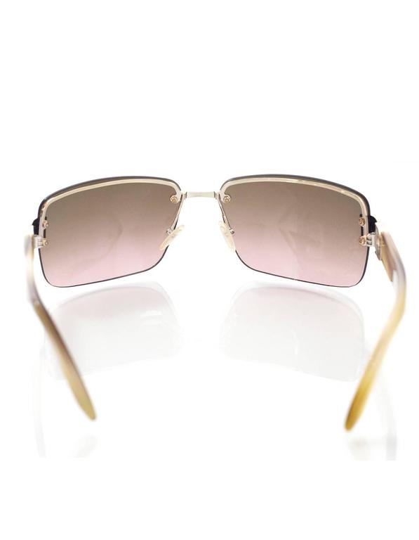 Women's or Men's Christian Dior Brown I Love Dior 2 Sunglasses rt. $465 For Sale