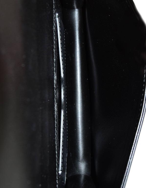 Christian Dior '17 Black Calfskin Bee Pouch Clutch Bag 2