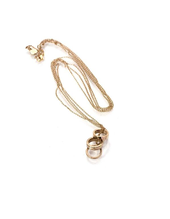 interlocking pendant on deals get guides endless necklace find cheap quotations ring gold shopping