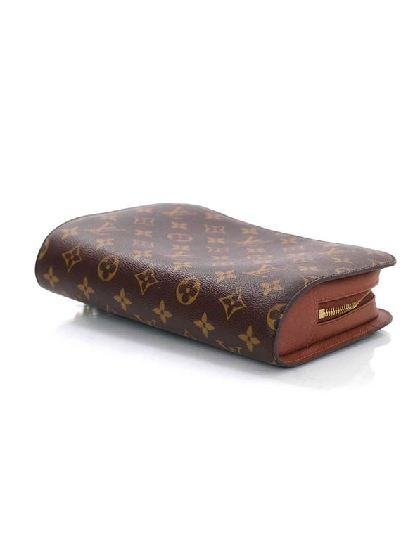 481519c203e6 Women s or Men s Louis Vuitton Monogram Canvas Orsay Wristlet Clutch Bag  For Sale