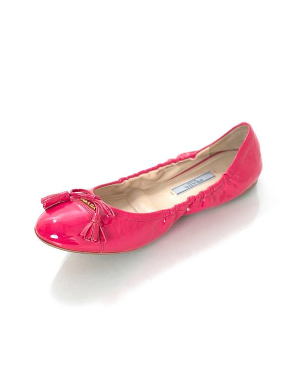 Metallic Pink Leather Shoes