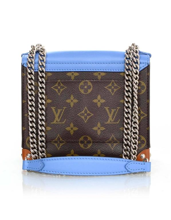 Louis Vuitton Blue and Bown Monogram Mask Pochette Crossbody Bag rt. $3,250 4