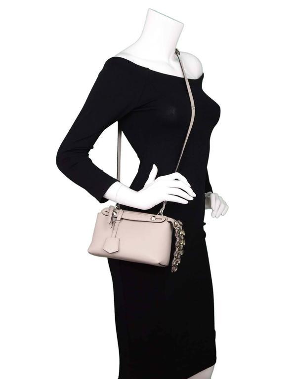 c765378493 Fendi Taupe By The Way Mini Crystal Croc Tail Satchel Crobody Bag rt. $2,350