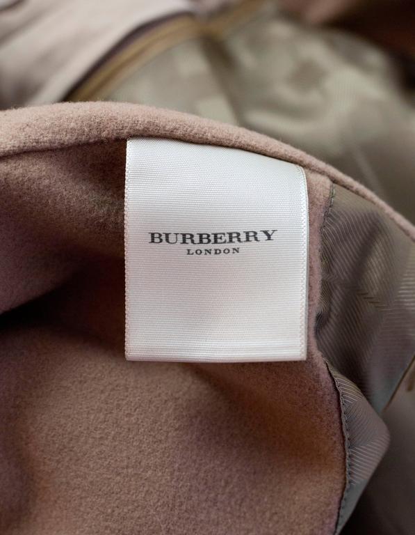 Burberry London Tan Trench Coat w/ Detachable Hood sz XL 7