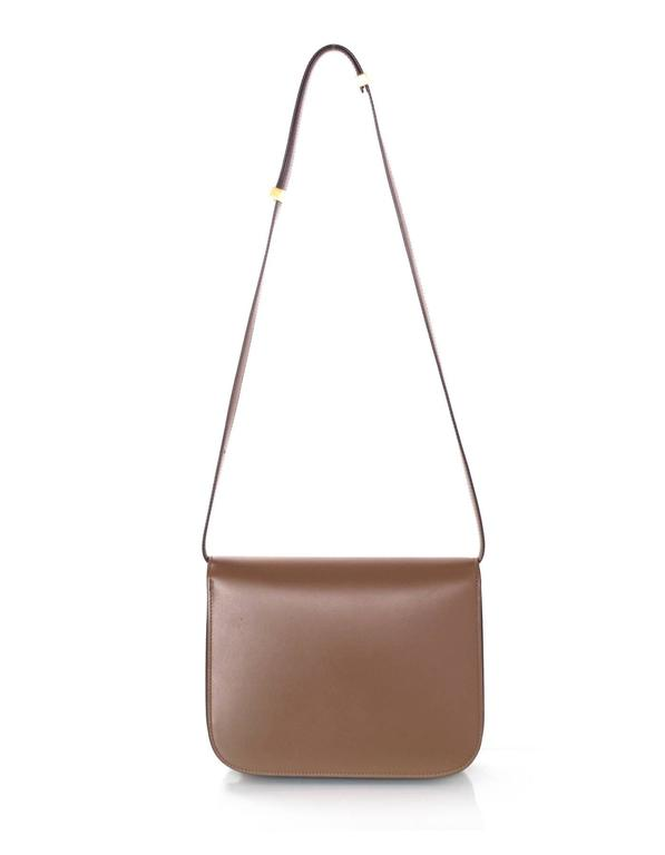 Celine Camel Leather Medium Box Bag rt. $3,900 5