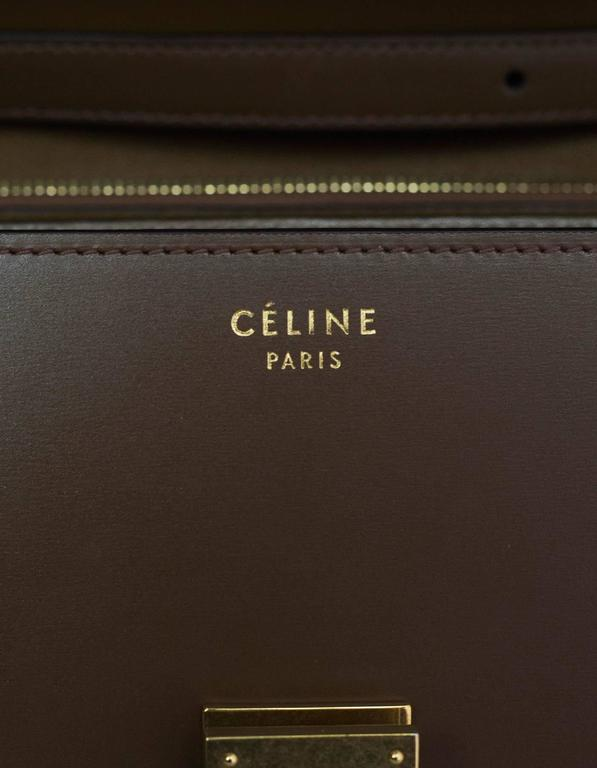 Celine Camel Leather Medium Box Bag rt. $3,900 9