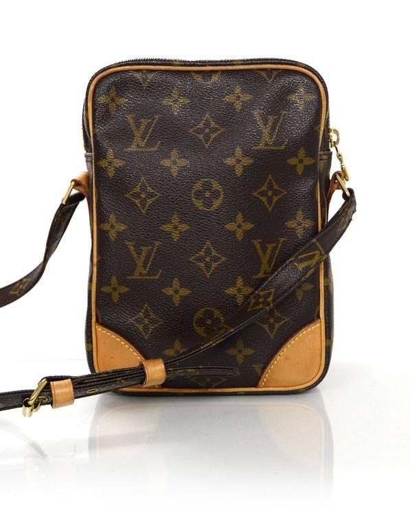 Black Louis Vuitton Monogram Pm Crossbody Camera Bag For