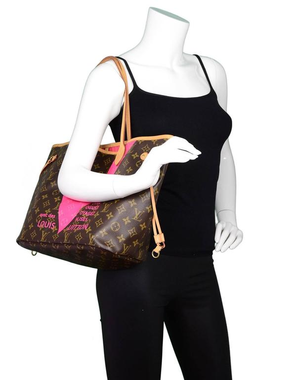 b360d051c79b Louis Vuitton Grenade Monogram V Neverfull MM Tote Limited edition  Neverfull MM tote from Summer 2015