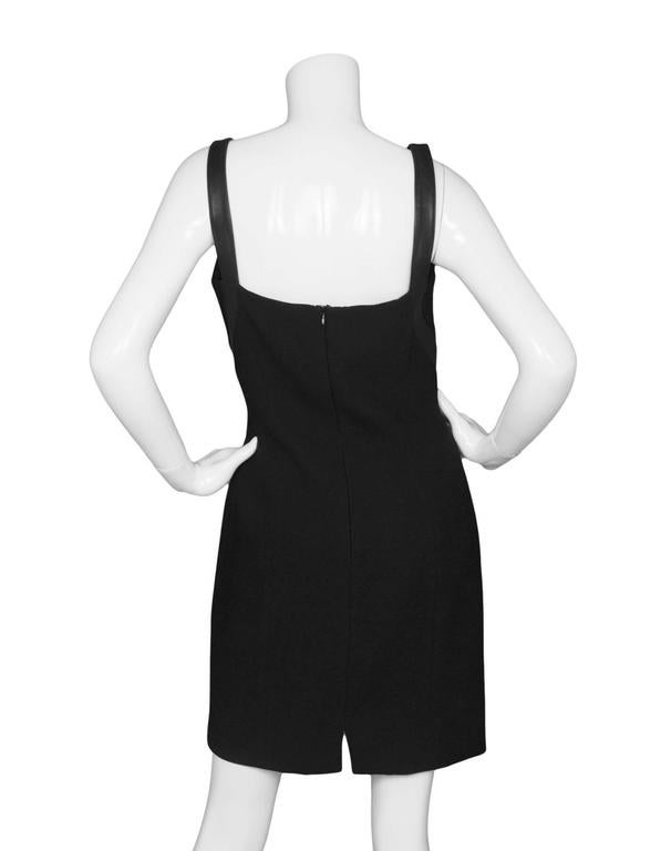 Women's Michael Kors Black Shift Dress sz US8 For Sale