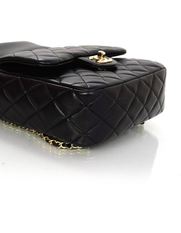 Chanel Black Lambskin Leather Small Paris In Seoul Backpack Bag For Sale 1