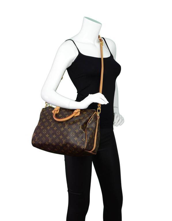 d6bd90514282 Louis Vuitton M41533 Speedy 30 Monogram V Tote Bag Monogram Canvas ...