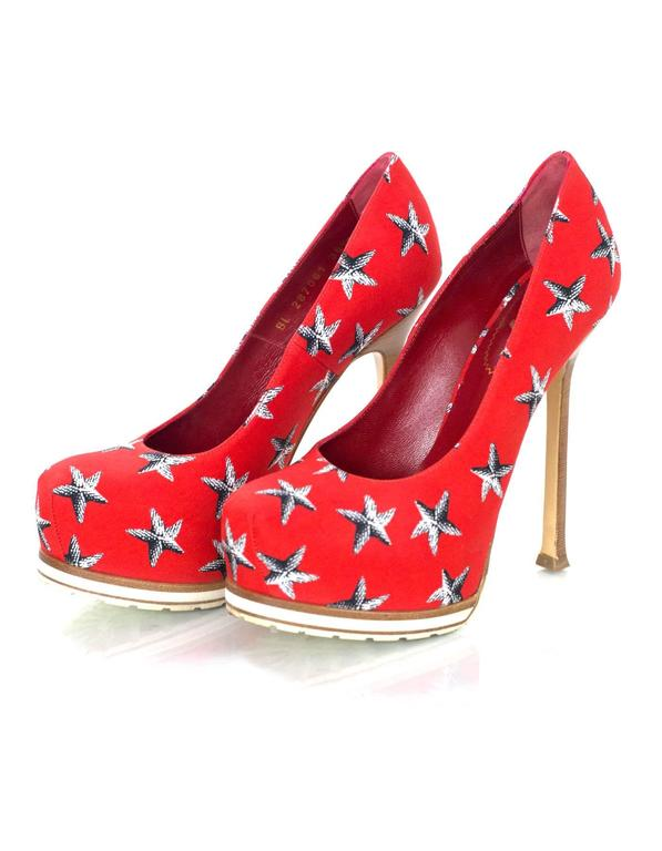Ysl Red Sole Shoe For Sale