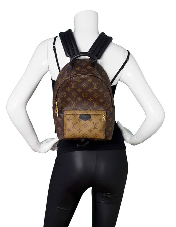 3431c3ad528 Louis Vuitton Monogram Reverso Palm Springs PM Backpack