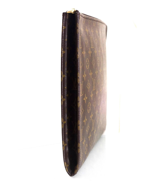 detailed look 4e1c2 26981 Louis Vuitton Monogram Poche Documents Portfolio Case
