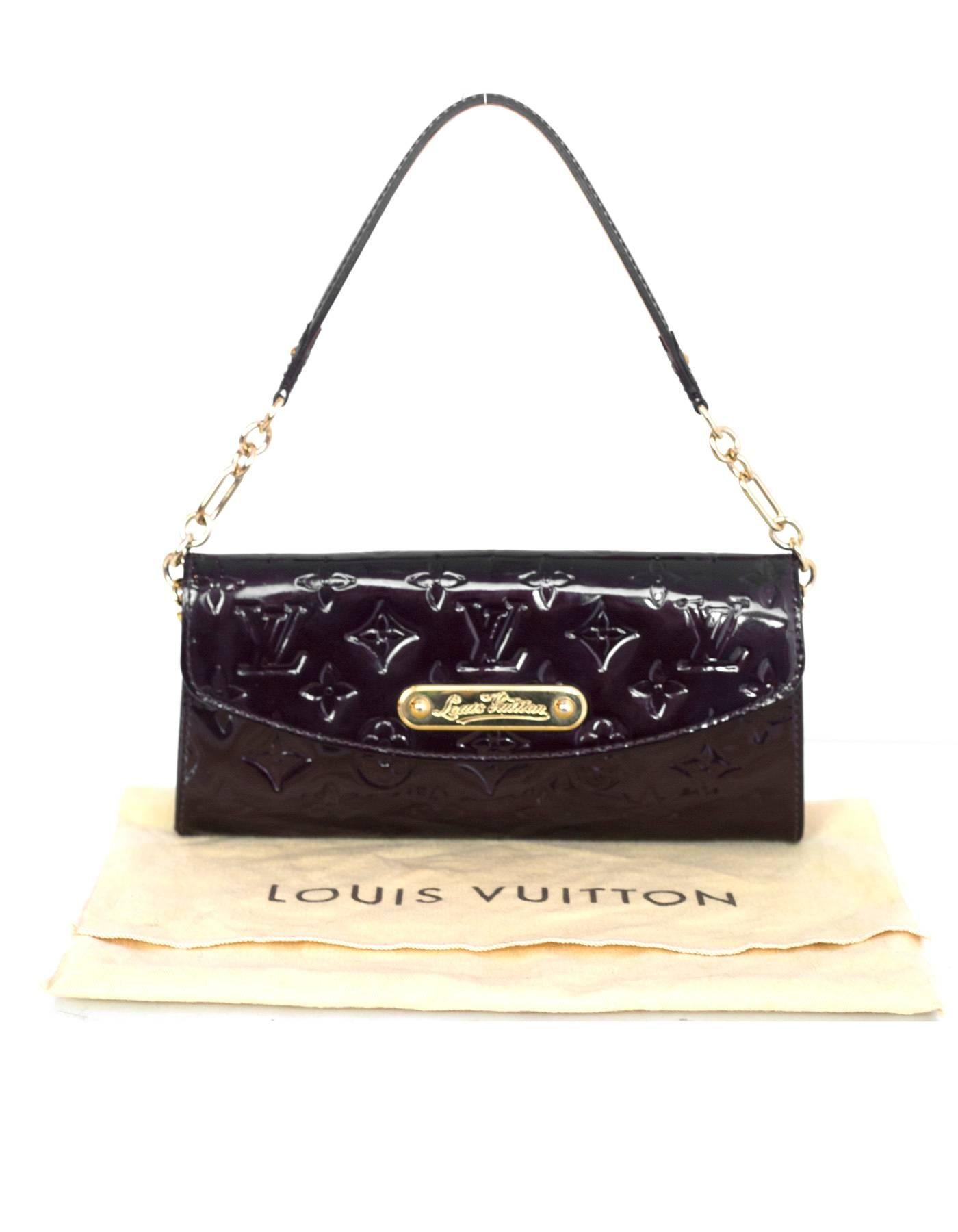 7d6cfc0e1d7b8 Louis Vuitton Amarante Vernis Sunset Boulevard Pochette Bag For Sale at  1stdibs