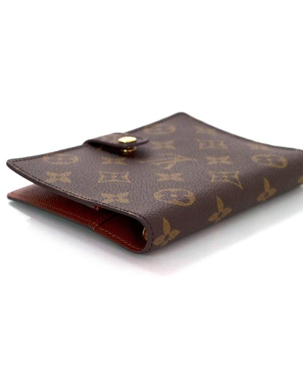 1fcfb39e94d9 Louis Vuitton Monogram Small Ring Agenda Cover For Sale at 1stdibs