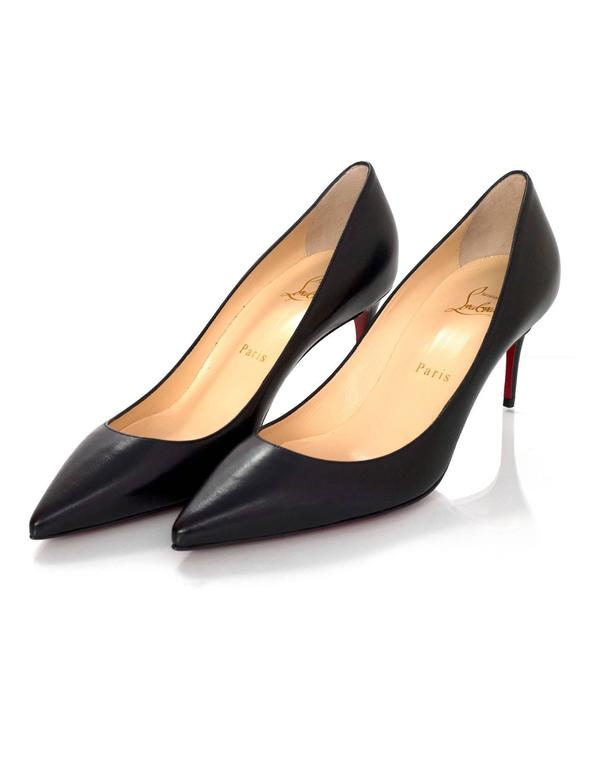 christian louboutin decollete 37.5