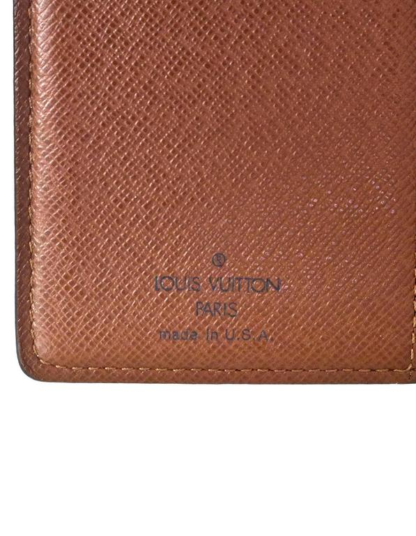 Louis Vuitton Monogram French Purse Wallet For Sale at 1stdibs f4bc810a3b3