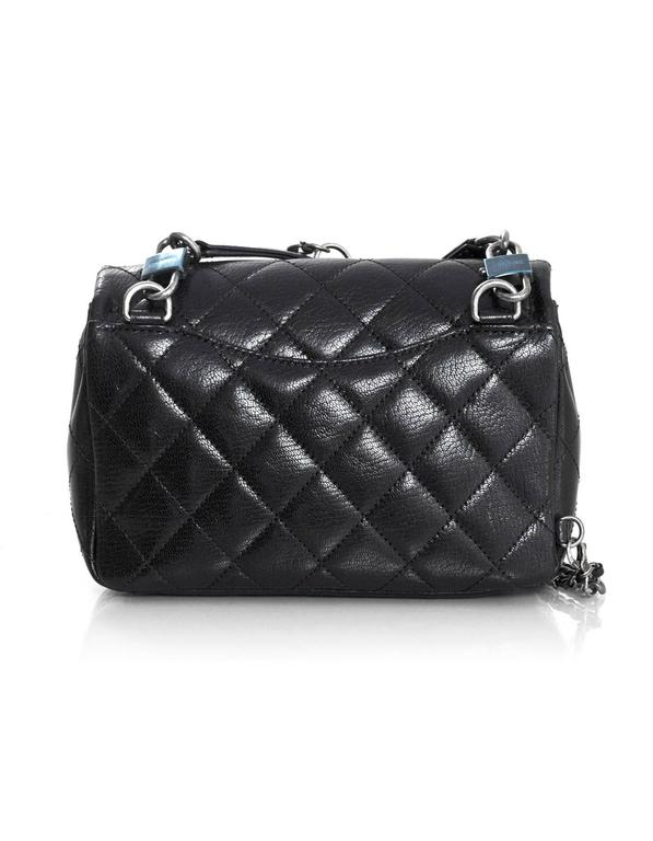 Chanel double carry waist chain flap bag