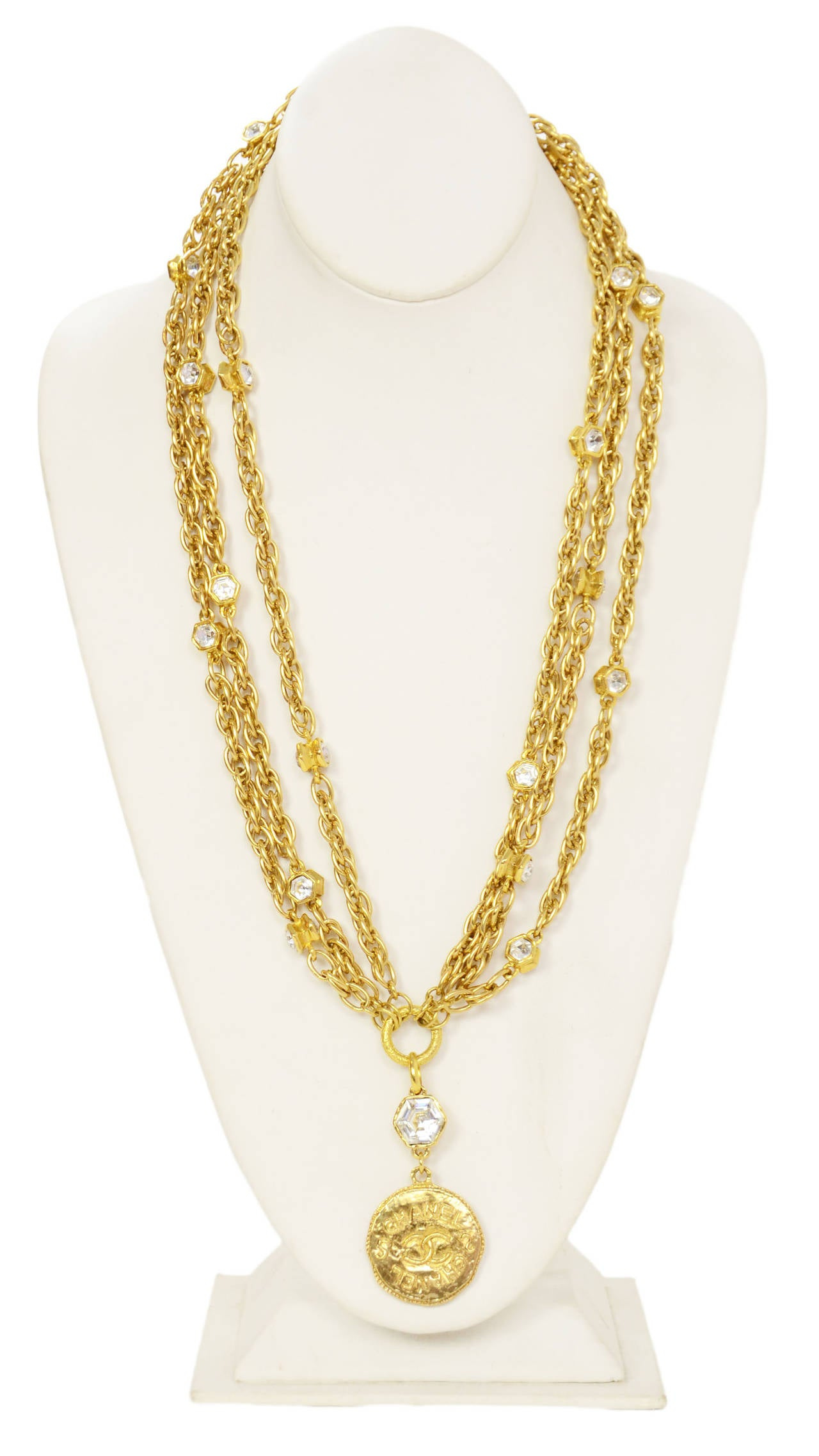jewellery fashion resin long my necklace products packshot default chains costume metal necklaces en chanel gold beige