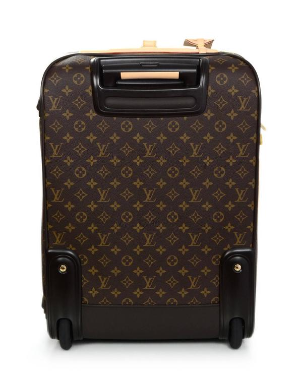 fd93ce077 Louis Vuitton Monogram Pegase Legere 55 Rolling Luggage Made In: USA Year  of Production: