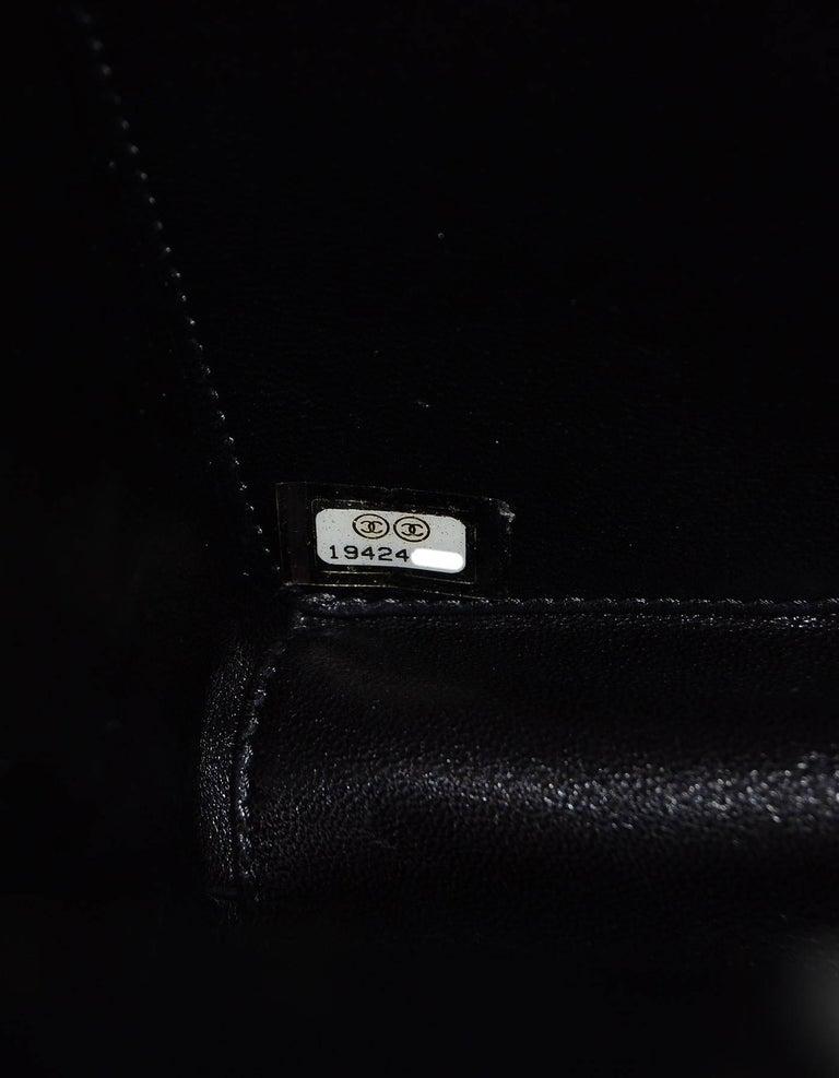 Chanel NEW 2014 Black Plexiglass Perfume Bottle Crossbody Evening Bag 7
