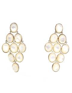 Ippolita MOP Cascade Pierced Earrings w/DB rt. $995