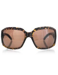 Emporio Armani Tortoise Square Sunglasses with Case