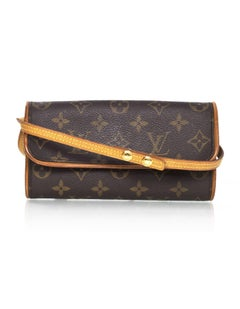 Louis Vuitton Monogram Twin Pochette PM Crossbody Bag