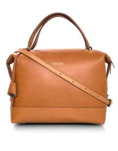 8/9 Dooney & Bourke Tan Leather Bowler Bag