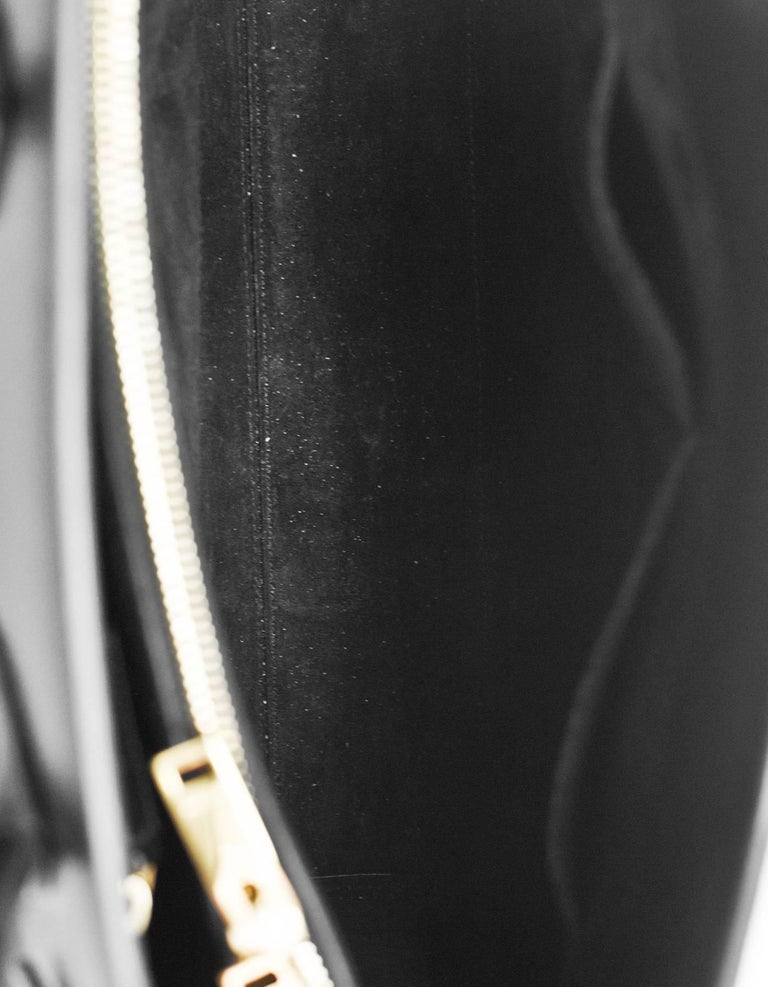 8/9 Saint Laurent Black Calfskin Small Sac De Jour Bag 6