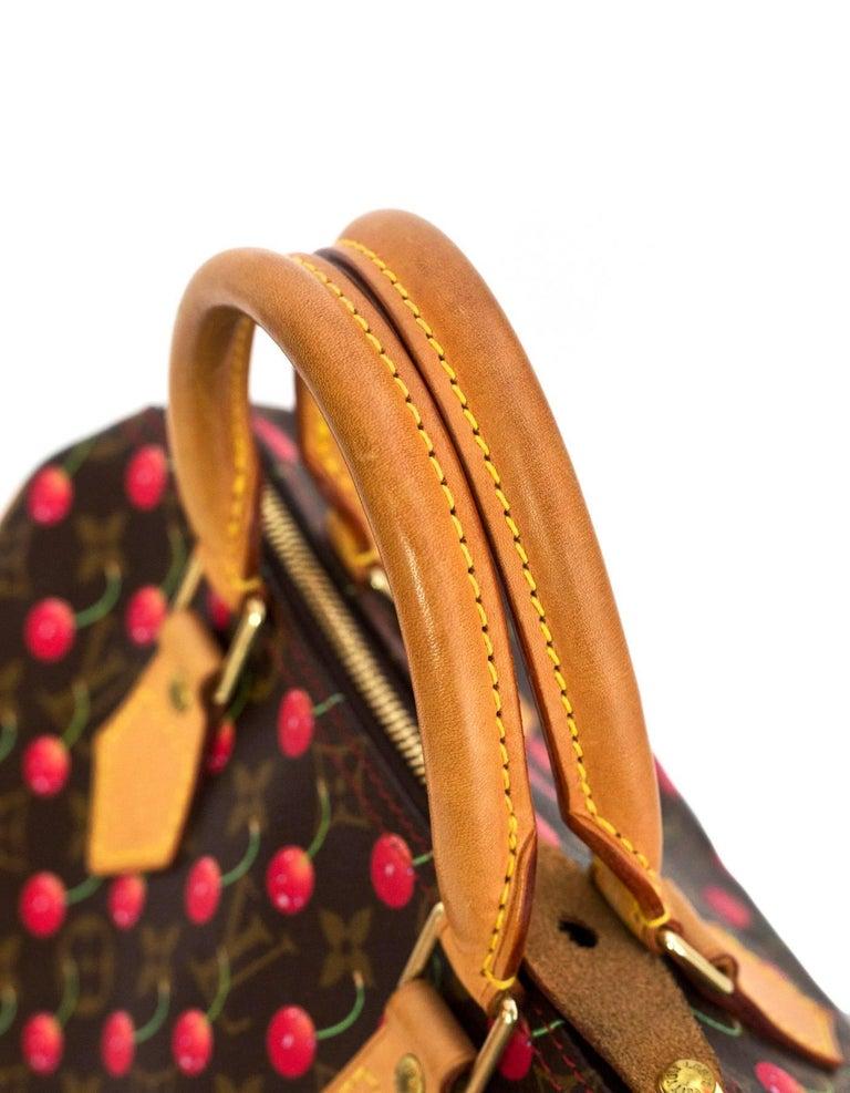 0dae66e5bec9 Louis Vuitton Monogram Cherry Cerises Speedy 25 Bag at 1stdibs