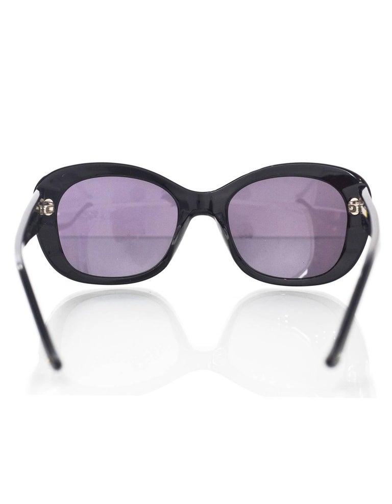 Judith Leiber JL1623 Black Deja Vu Crystal Sunglasses 5