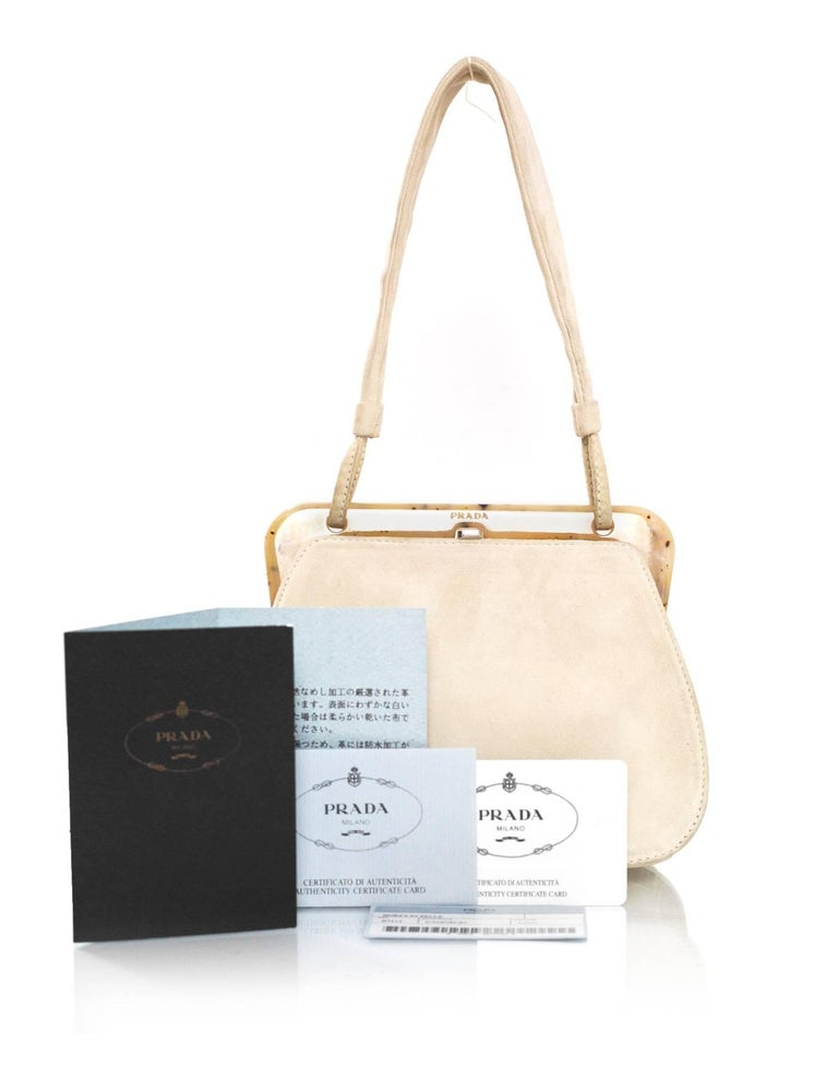 eb9cf5854daf4c Cream Prada Handbags | Stanford Center for Opportunity Policy in ...