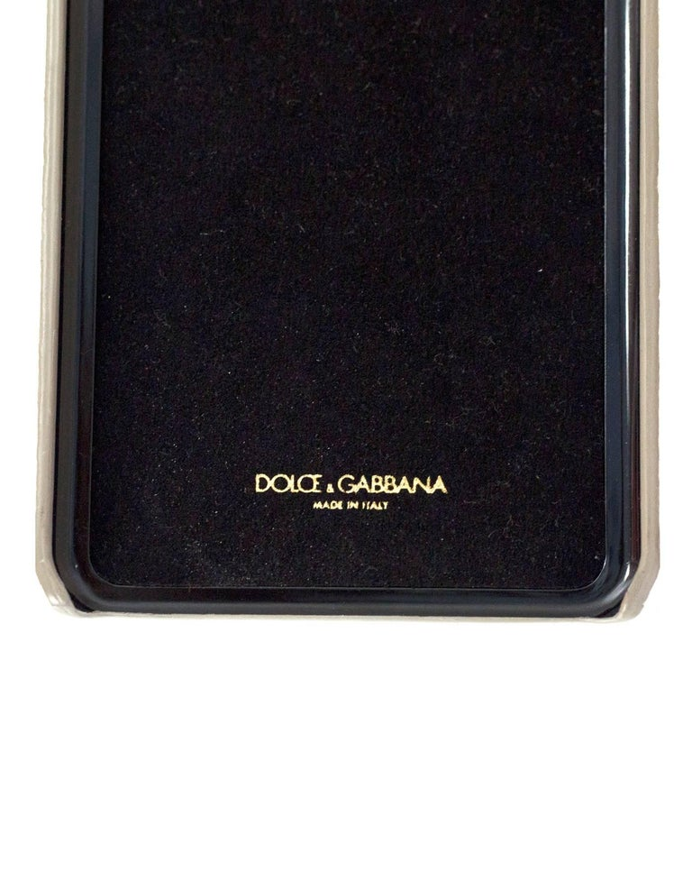 Dolce & Gabbana Multi Color Bella Mama iPhone 6 Plus Case In Excellent Condition For Sale In New York, NY