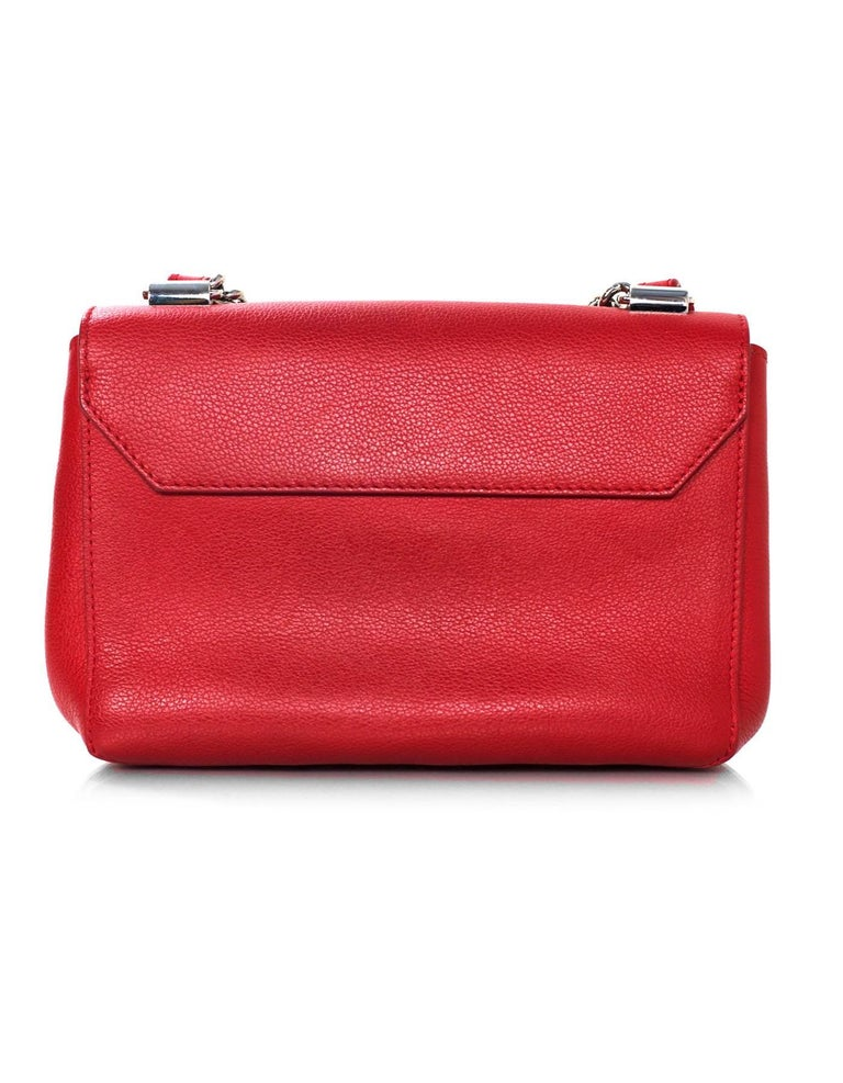 Louis Vuitton Red Lockme II BB Satchel Bag with DB 3