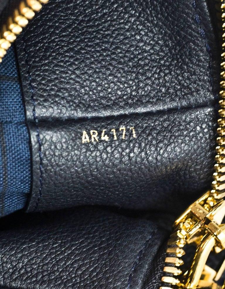 Louis Vuitton Bleu Infini Monogram Empreinte Audacieuse GM Bag With Strap  For Sale 4 c6880d882dd7a