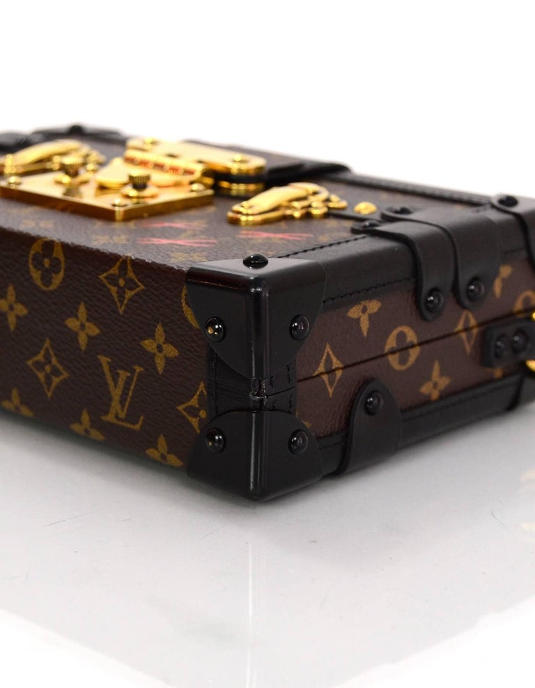 Louis Vuitton Monogram Petite Malle Trunk Crossbody Bag 3