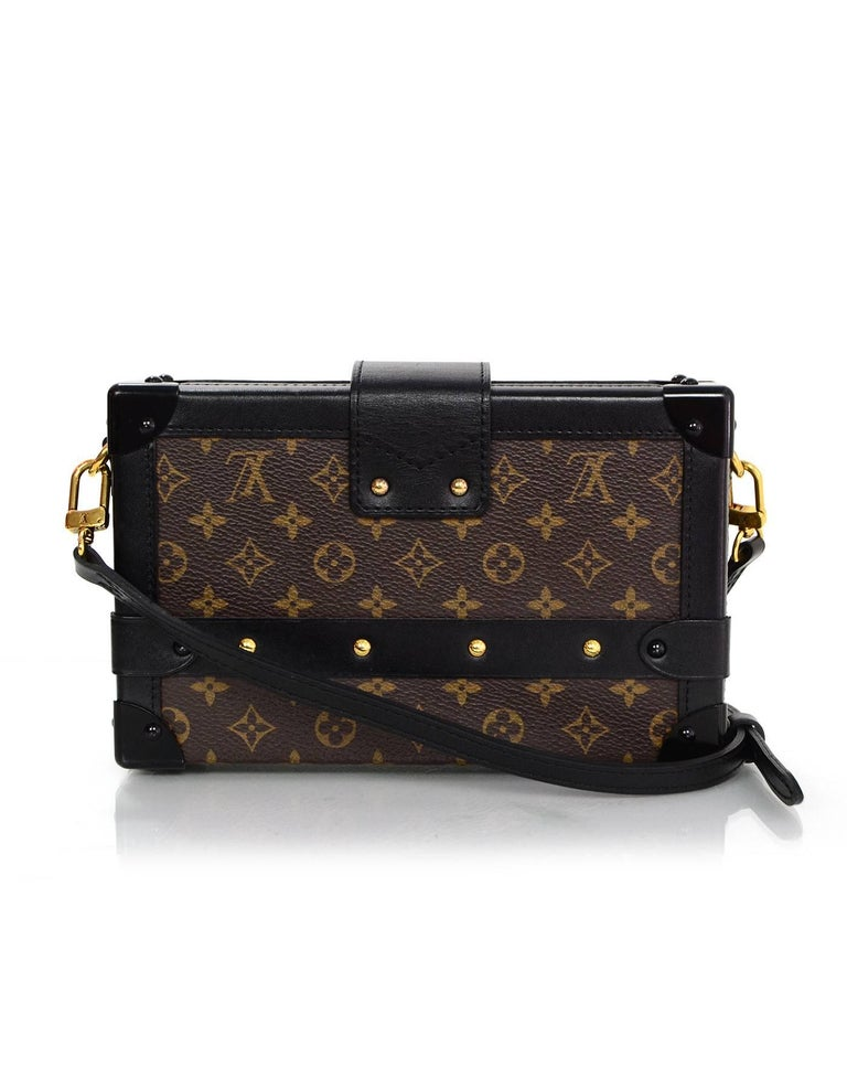 Louis Vuitton Monogram Petite Malle Trunk Crossbody Bag 2