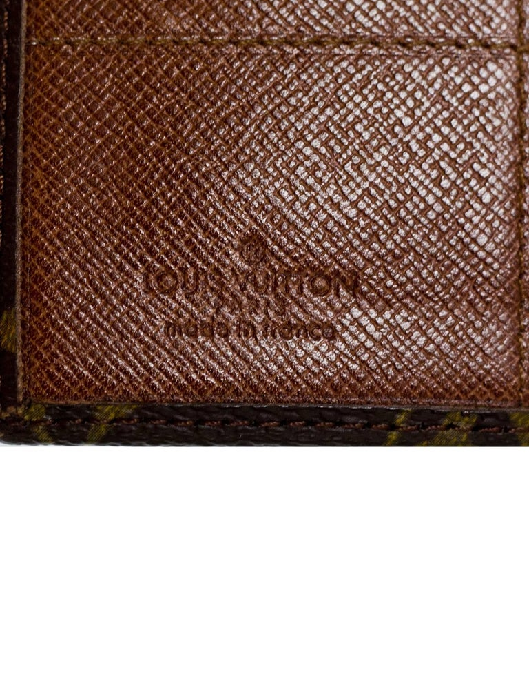 Louis Vuitton Vintage Monogram Picture/Card Holder For Sale 3